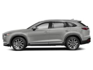 Sonic Silver Metallic 2019 Mazda CX-9 Pictures CX-9 Grand Touring AWD photos side view