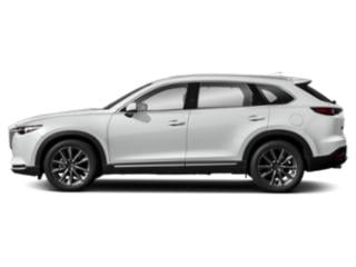 Snowflake White Pearl Mica 2019 Mazda CX-9 Pictures CX-9 Signature AWD photos side view