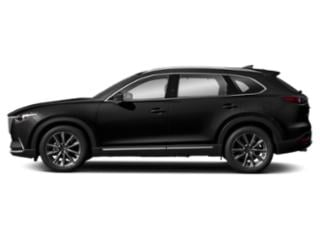 Jet Black Mica 2019 Mazda CX-9 Pictures CX-9 Signature AWD photos side view