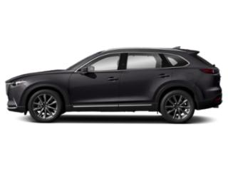 Machine Gray Metallic 2019 Mazda CX-9 Pictures CX-9 Signature AWD photos side view