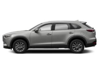 Sonic Silver Metallic 2019 Mazda CX-9 Pictures CX-9 Touring AWD photos side view