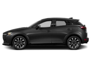 Jet Black Mica 2019 Mazda CX-3 Pictures CX-3 Touring FWD photos side view