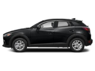 Jet Black Mica 2019 Mazda CX-3 Pictures CX-3 Grand Touring AWD photos side view