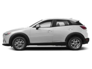 Snowflake White Pearl 2019 Mazda CX-3 Pictures CX-3 Sport AWD photos side view