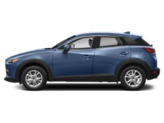 Eternal Blue Mica 2019 Mazda CX-3 Pictures CX-3 Grand Touring AWD photos side view