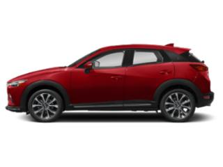 Soul Red Crystal Metallic 2019 Mazda CX-3 Pictures CX-3 Grand Touring AWD photos side view