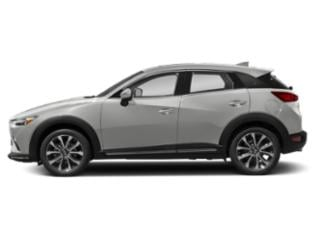 Ceramic Metallic 2019 Mazda CX-3 Pictures CX-3 Grand Touring AWD photos side view