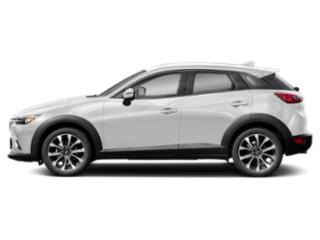 Snowflake White Pearl 2019 Mazda CX-3 Pictures CX-3 Touring FWD photos side view