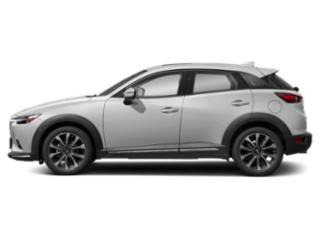 Snowflake White Pearl 2019 Mazda CX-3 Pictures CX-3 Grand Touring FWD photos side view
