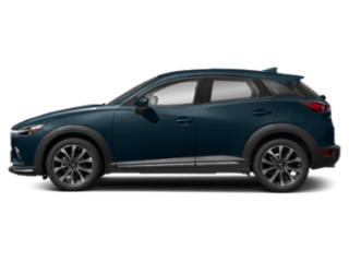 Deep Crystal Blue Mica 2019 Mazda CX-3 Pictures CX-3 Grand Touring FWD photos side view