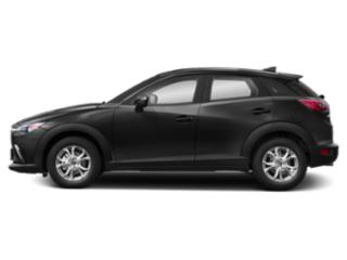 Jet Black Mica 2019 Mazda CX-3 Pictures CX-3 Sport FWD photos side view