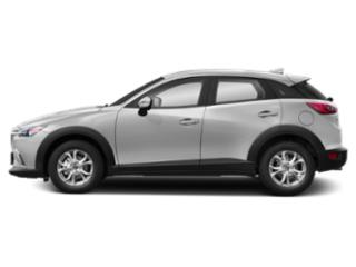 Snowflake White Pearl 2019 Mazda CX-3 Pictures CX-3 Sport FWD photos side view