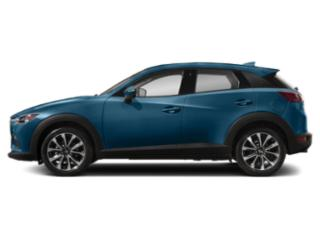 Eternal Blue Mica 2019 Mazda CX-3 Pictures CX-3 Touring AWD photos side view
