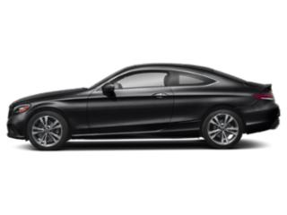 Black 2019 Mercedes-Benz C-Class Pictures C-Class C 300 4MATIC Coupe photos side view