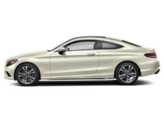 designo Diamond White Metallic 2019 Mercedes-Benz C-Class Pictures C-Class C 300 4MATIC Coupe photos side view