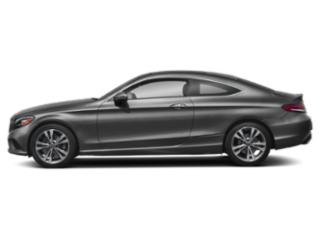 Graphite Grey Metallic 2019 Mercedes-Benz C-Class Pictures C-Class C 300 4MATIC Coupe photos side view