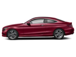 designo Cardinal Red Metallic 2019 Mercedes-Benz C-Class Pictures C-Class C 300 4MATIC Coupe photos side view