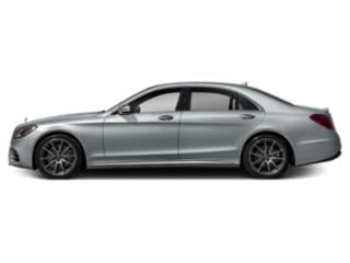 Diamond Silver Metallic 2019 Mercedes-Benz S-Class Pictures S-Class S 450 4MATIC Sedan photos side view