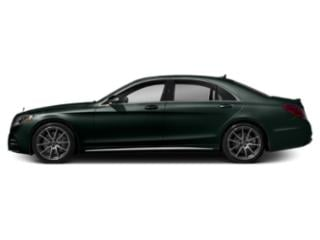 Emerald Green Metallic 2019 Mercedes-Benz S-Class Pictures S-Class S 450 4MATIC Sedan photos side view