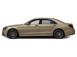 Dune Silver Metallic 2019 Mercedes-Benz S-Class Pictures S-Class S 450 4MATIC Sedan photos side view