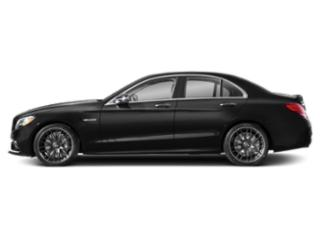 Obsidian Black Metallic 2019 Mercedes-Benz C-Class Pictures C-Class AMG C 63 S Sedan photos side view