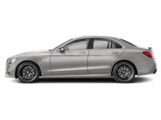 Mojave Silver Metallic 2019 Mercedes-Benz C-Class Pictures C-Class AMG C 63 S Sedan photos side view