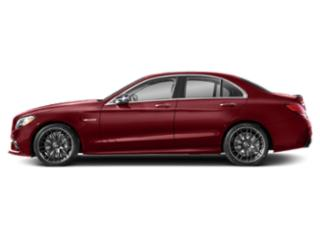 designo Cardinal Red Metallic 2019 Mercedes-Benz C-Class Pictures C-Class AMG C 63 S Sedan photos side view