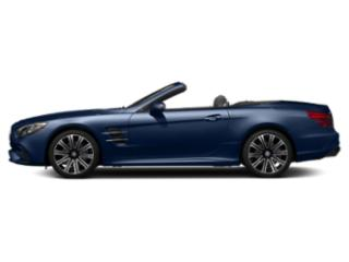 Brilliant Blue Metallic 2019 Mercedes-Benz SL Pictures SL SL 450 Roadster photos side view