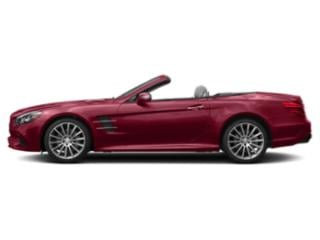 designo Cardinal Red Metallic 2019 Mercedes-Benz SL Pictures SL SL 550 Roadster photos side view