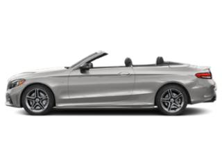Mojave Silver Metallic 2019 Mercedes-Benz C-Class Pictures C-Class AMG C 43 4MATIC Cabriolet photos side view
