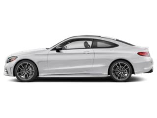 Polar White 2019 Mercedes-Benz C-Class Pictures C-Class AMG C 43 4MATIC Coupe photos side view