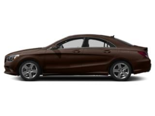 Cocoa Brown Metallic 2019 Mercedes-Benz CLA Pictures CLA CLA 250 4MATIC Coupe photos side view