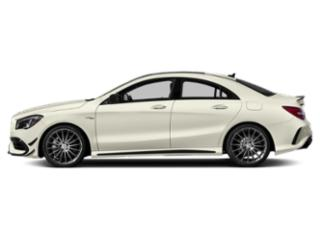Polar White 2019 Mercedes-Benz CLA Pictures CLA AMG CLA 45 4MATIC Coupe photos side view