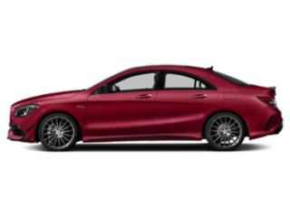 Jupiter Red 2019 Mercedes-Benz CLA Pictures CLA AMG CLA 45 4MATIC Coupe photos side view
