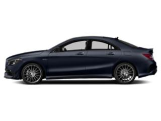 Lunar Blue Metallic 2019 Mercedes-Benz CLA Pictures CLA AMG CLA 45 4MATIC Coupe photos side view