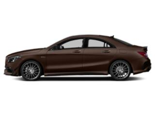 Cocoa Brown Metallic 2019 Mercedes-Benz CLA Pictures CLA AMG CLA 45 4MATIC Coupe photos side view