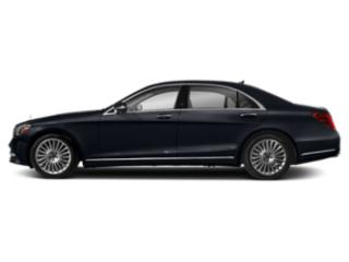 Anthracite Blue Metallic 2019 Mercedes-Benz S-Class Pictures S-Class S 560 Sedan photos side view