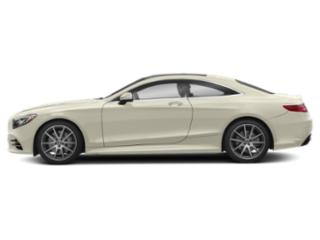 designo Diamond White 2019 Mercedes-Benz S-Class Pictures S-Class S 560 4MATIC Coupe photos side view