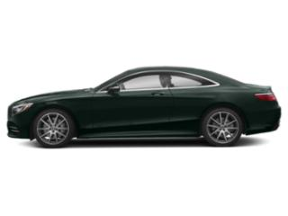 Emerald Green Metallic 2019 Mercedes-Benz S-Class Pictures S-Class S 560 4MATIC Coupe photos side view