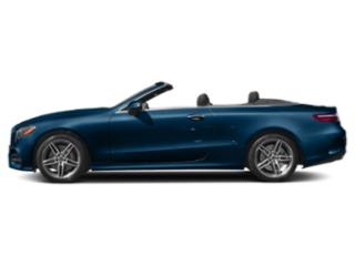 Lunar Blue Metallic 2019 Mercedes-Benz E-Class Pictures E-Class E 450 4MATIC Cabriolet photos side view