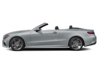 Diamond Silver Metallic 2019 Mercedes-Benz E-Class Pictures E-Class E 450 4MATIC Cabriolet photos side view