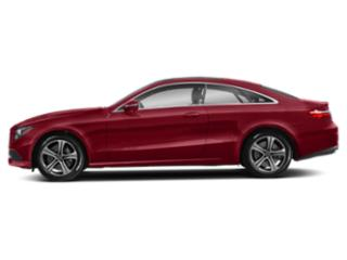 Rubellite Red 2019 Mercedes-Benz E-Class Pictures E-Class E 450 4MATIC Coupe photos side view