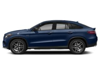 Brilliant Blue Metallic 2019 Mercedes-Benz GLE Pictures GLE AMG GLE 43 4MATIC Coupe photos side view