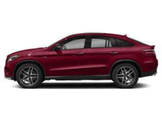 designo Cardinal Red Metallic 2019 Mercedes-Benz GLE Pictures GLE AMG GLE 43 4MATIC Coupe photos side view