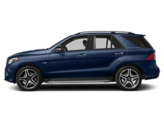 Brilliant Blue Metallic 2019 Mercedes-Benz GLE Pictures GLE AMG GLE 43 4MATIC SUV photos side view