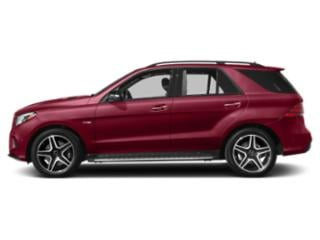 designo Cardinal Red Metallic 2019 Mercedes-Benz GLE Pictures GLE AMG GLE 43 4MATIC SUV photos side view