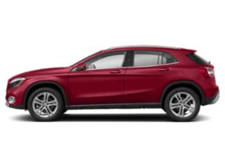 Jupiter Red 2019 Mercedes-Benz GLA Pictures GLA GLA 250 4MATIC SUV photos side view