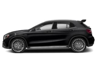 Night Black 2019 Mercedes-Benz GLA Pictures GLA AMG GLA 45 4MATIC SUV photos side view