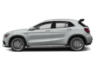 Iridium Silver Metallic 2019 Mercedes-Benz GLA Pictures GLA AMG GLA 45 4MATIC SUV photos side view