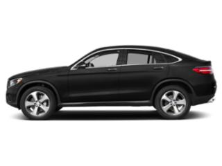 Obsidian Black Metallic 2019 Mercedes-Benz GLC Pictures GLC AMG GLC 43 4MATIC Coupe photos side view